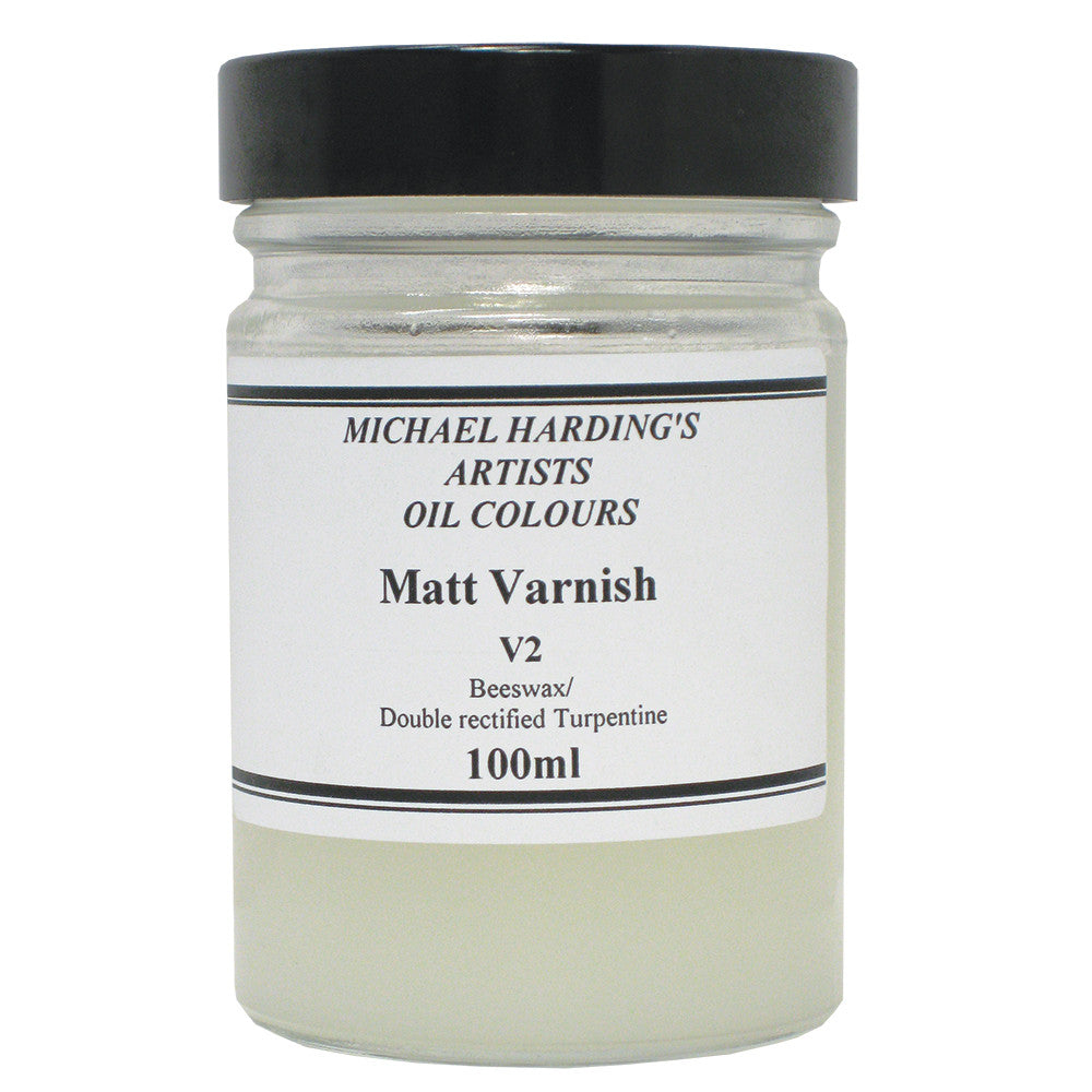 Michael Harding Matt Varnish 100ml Jar