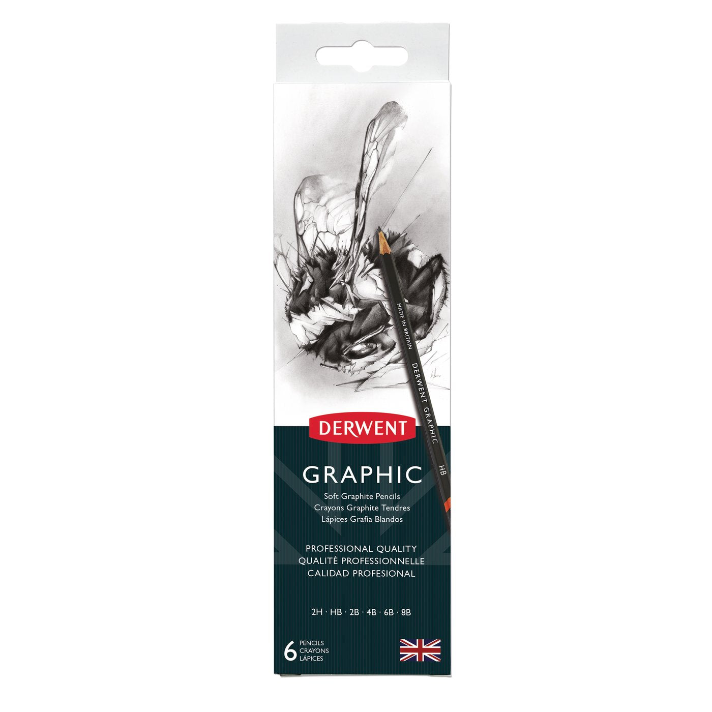 Derwent Graphic 6 Pencil Set