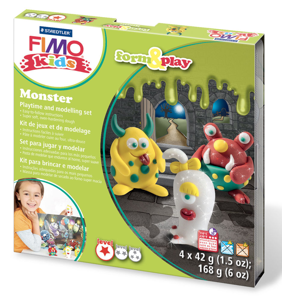 Staedtler Fimo Kids Form & Play Set - Monster