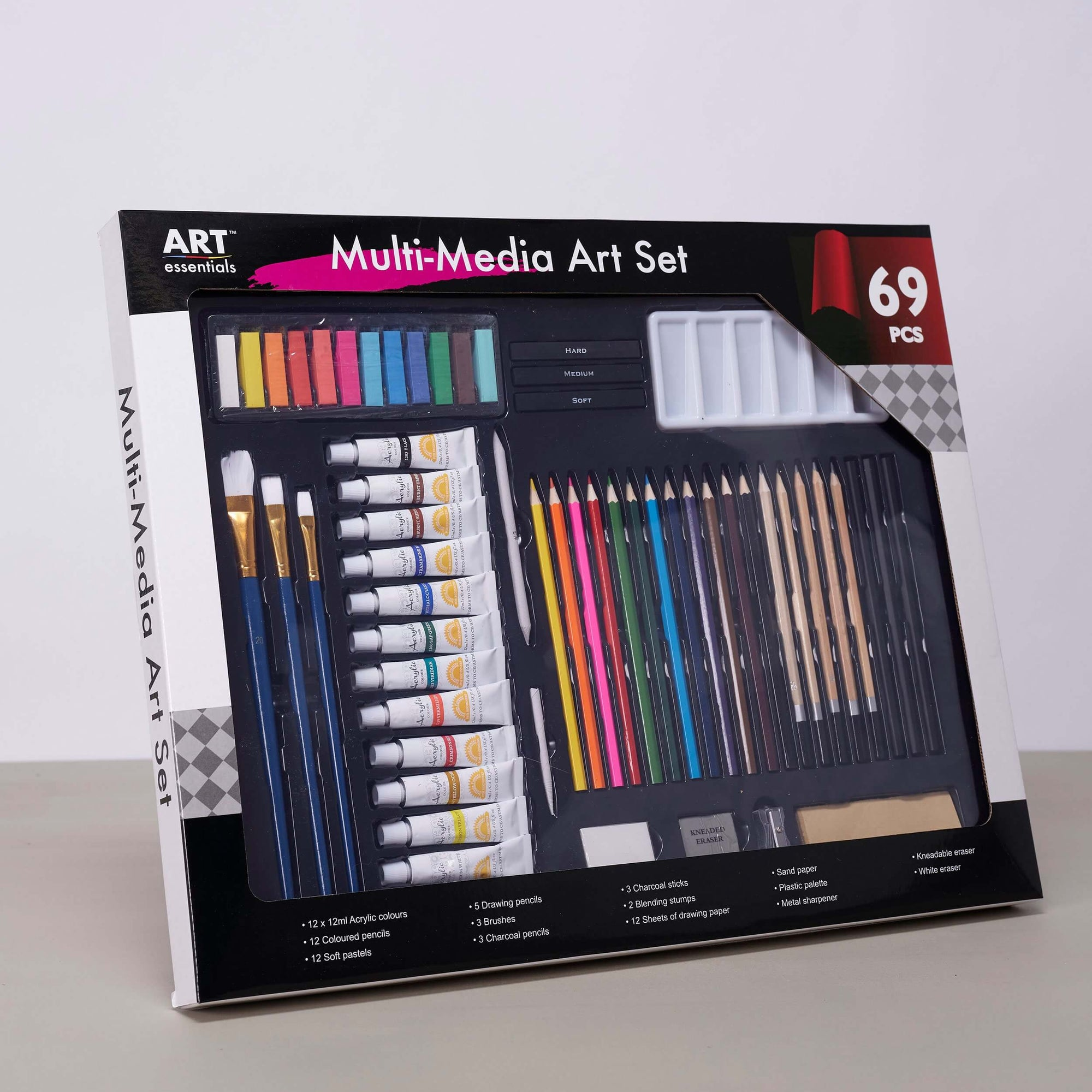 ART essentials Mixed Media Art Set - 69 Pieces