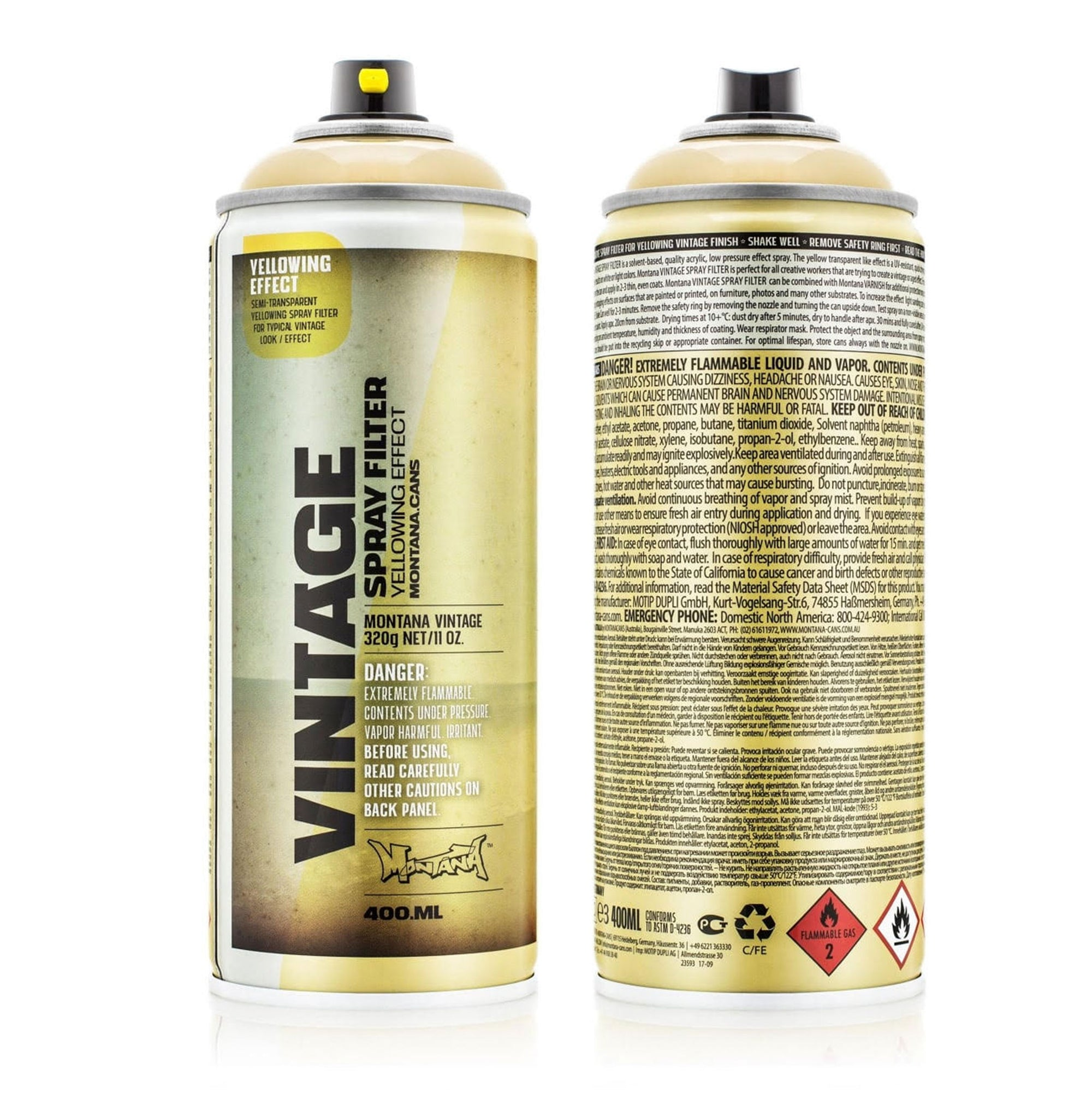 Montana Gold Vintage Filter Spray - 400ML