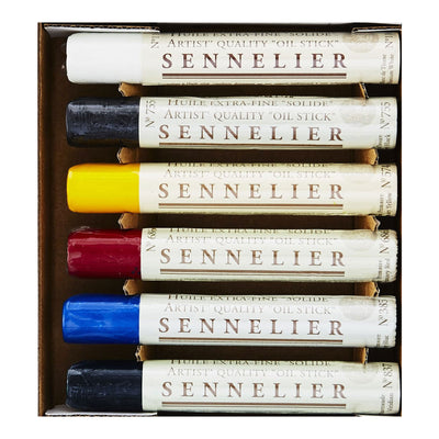 Sennelier Oil Sticks Basic Set
