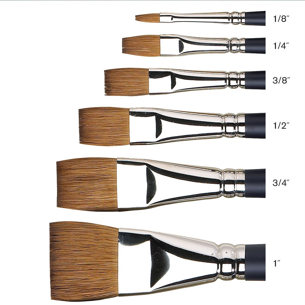 W&N Artists Water Colour Sable Brush - One Stroke