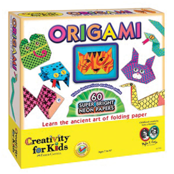Creativity for kids - Origami Neon