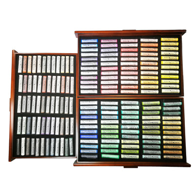 Daler Rowney Artist Soft Pastel Set of 180 in Deluxe Wooden Box