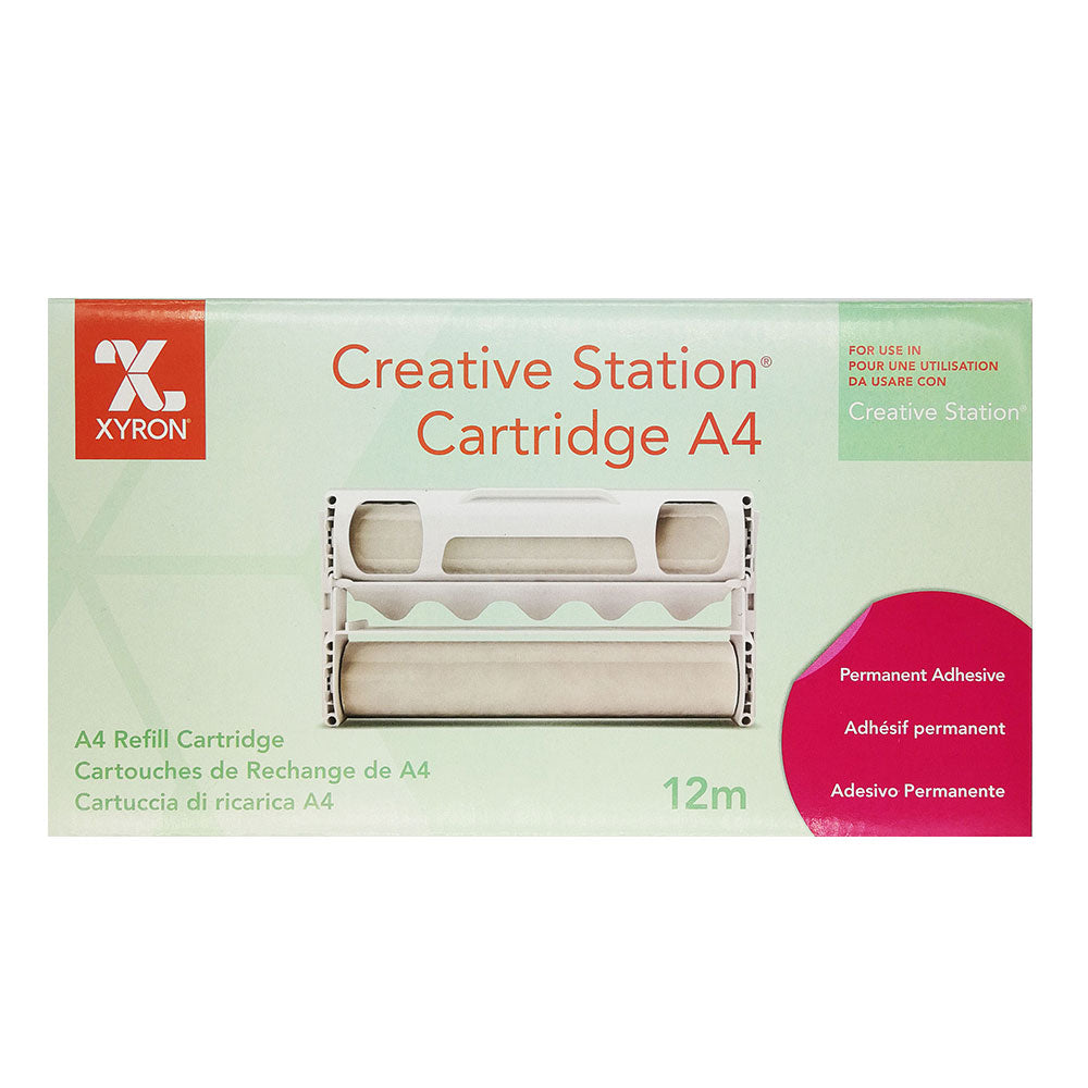 Creative Station Cartridges - Permanent Adhesive (Ref 23461) x 12m Roll