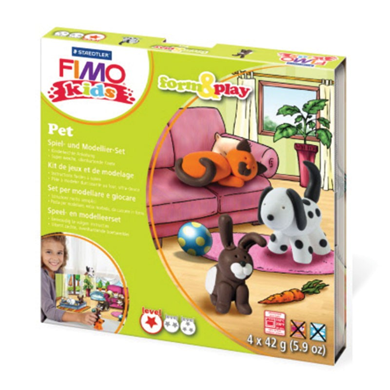 Staedtler Fimo Kids Form & Play Set - Pets