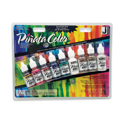 Piñata Alcohol Ink - Set of 9 - 0.5oz (14ml) - OVERTONES Exciter Set of 9