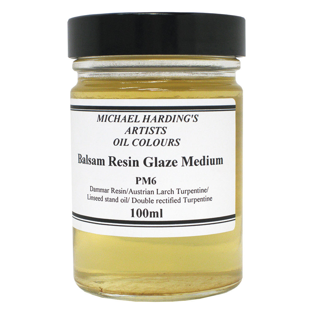 Michael Harding Balsam-Resin Glaze Medium100ml Jar