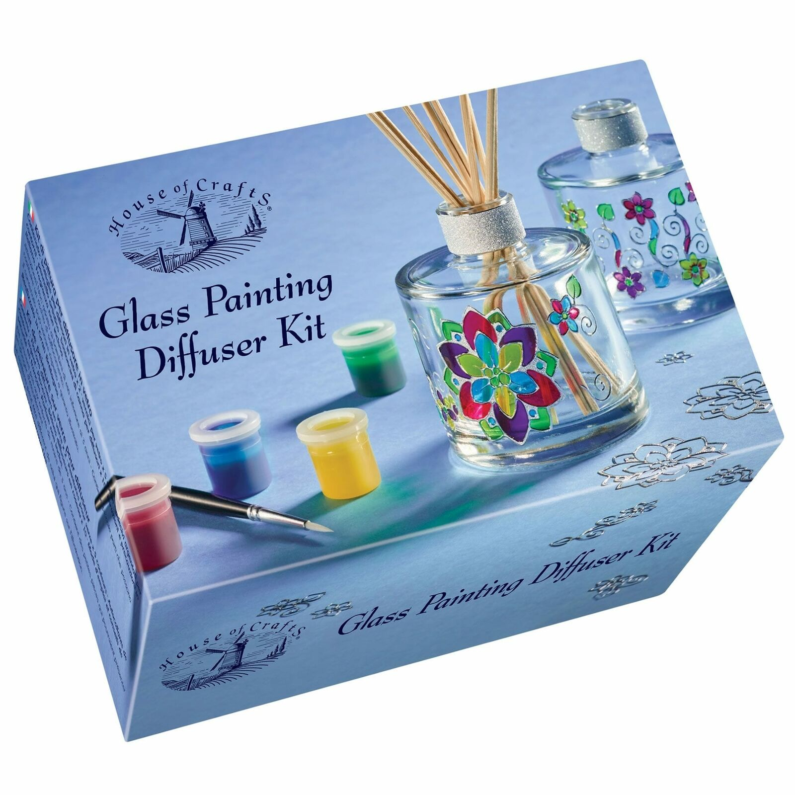 House of Crafts Glass Painting Diffuser Kit