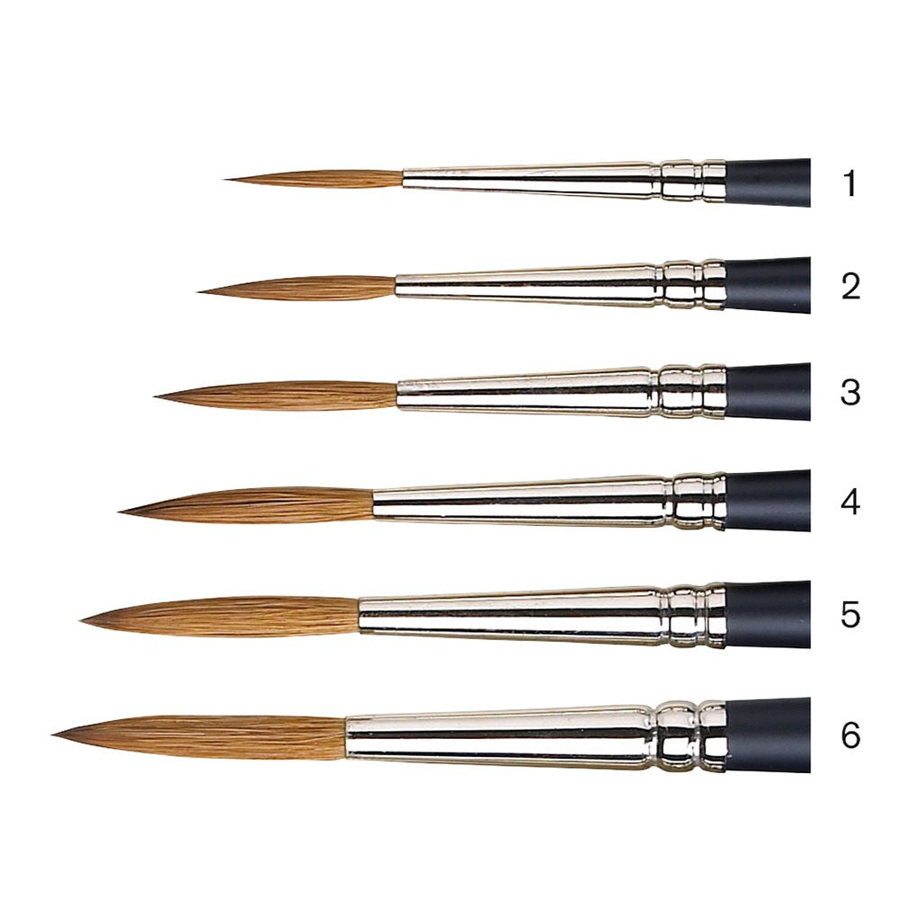 W&N Artists Water Colour Sable Brushes - Rigger