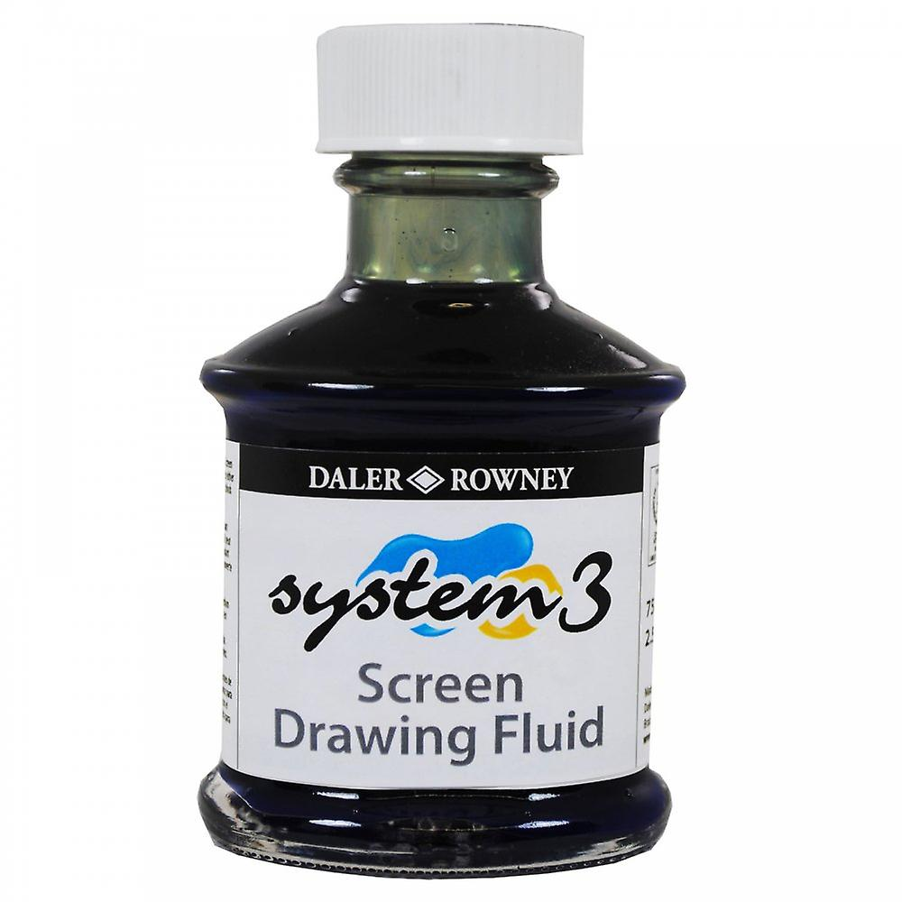 System 3 Screen Printing Medium - Drawing Fluid - 75ml
