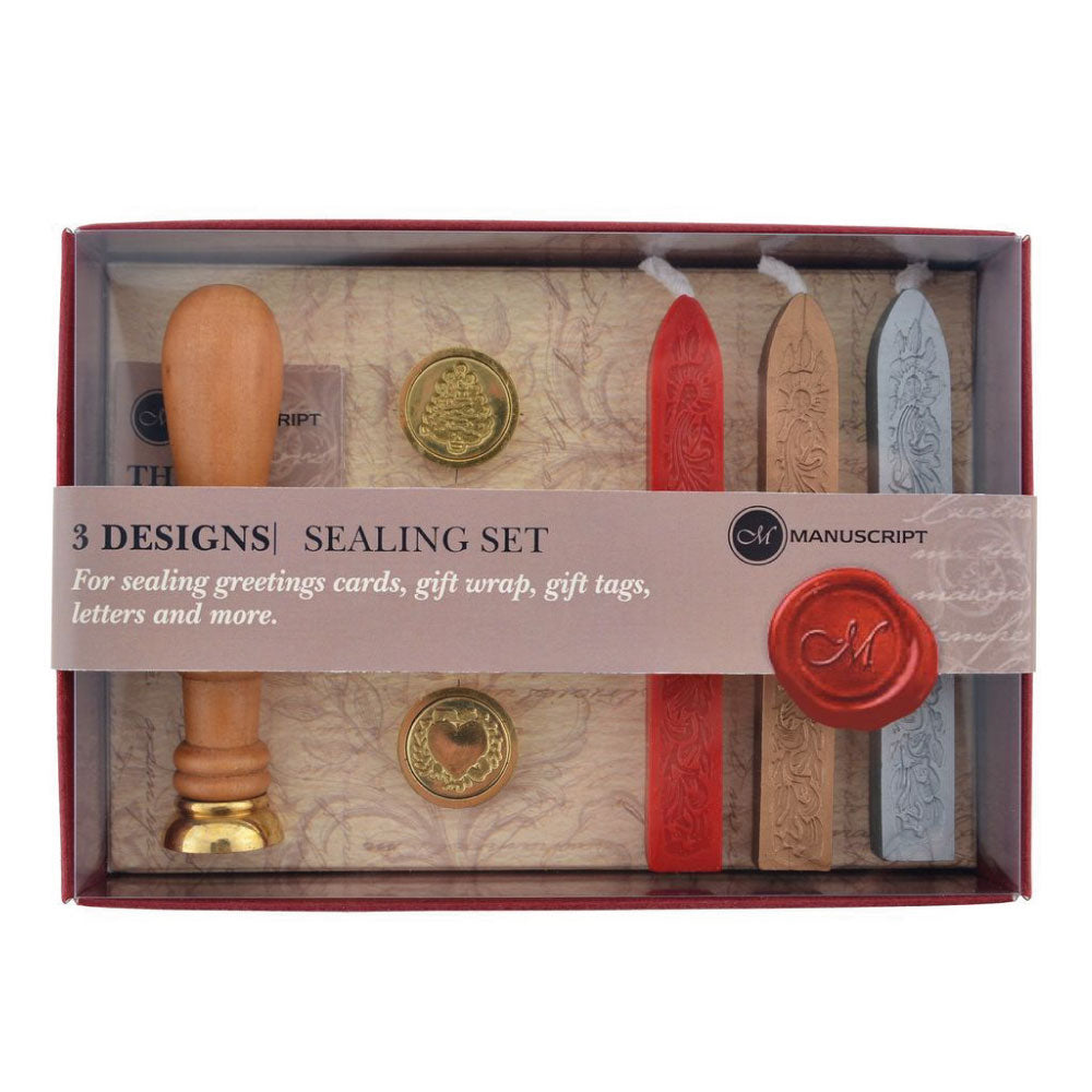 Manuscript Sealing Wax Set - 3 Designs