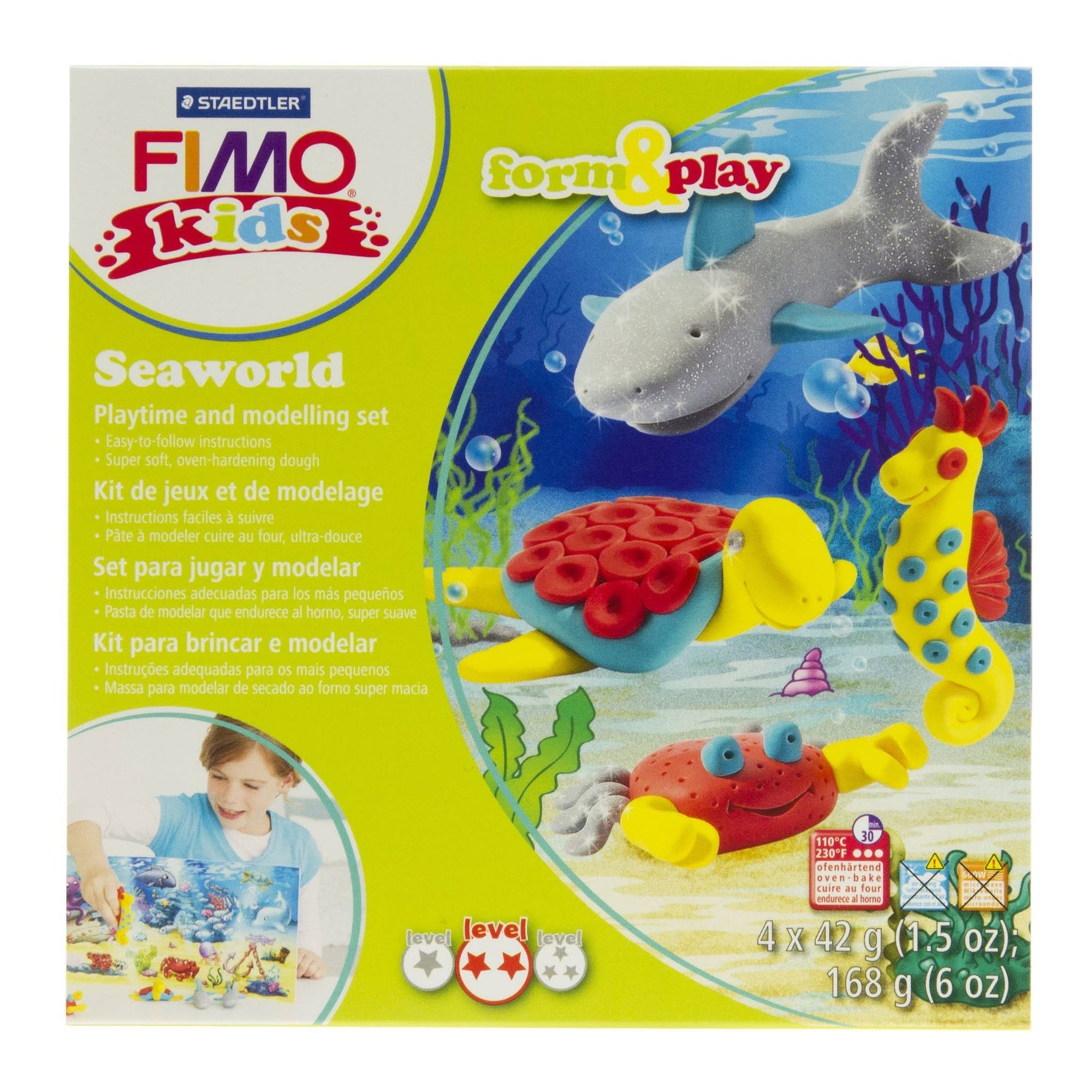 Staedtler Fimo Kids Form & Play Set - Seaworld
