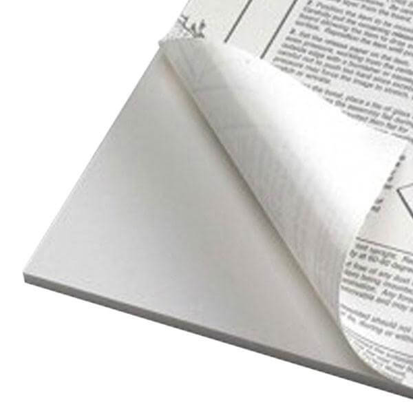 A1 White Foamboard - Self Adhesive 5mm