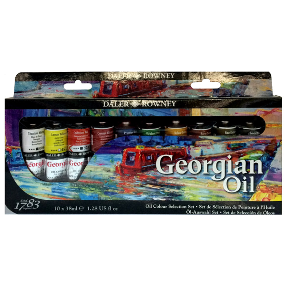 Georgian Oil Selection Set - 10 x 38ml Tubes
