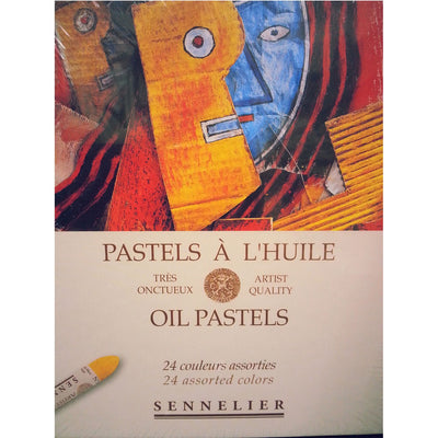 Sennelier Artists Oil Pastels Sets - Assorted Colours