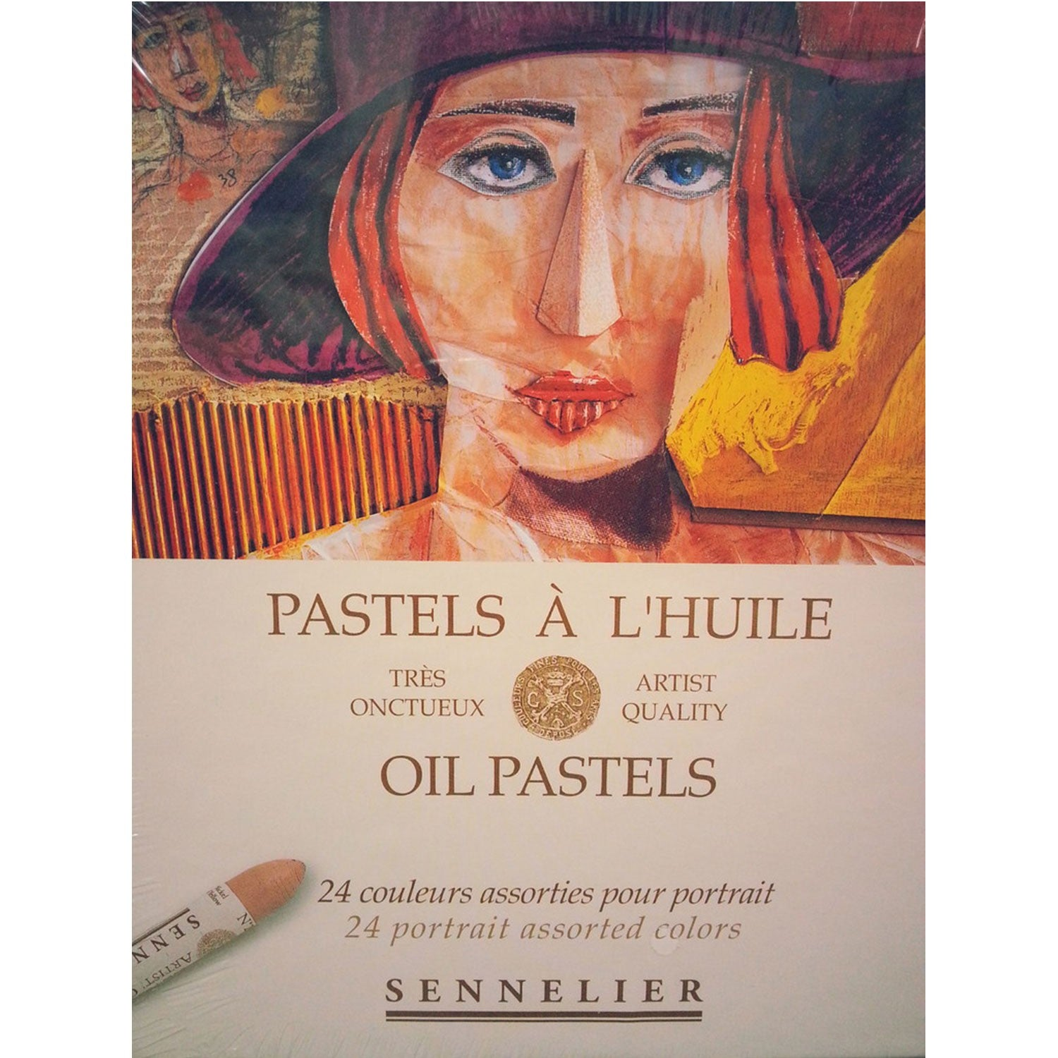 Sennelier Artists Oil Pastels Set of 24 Portrait