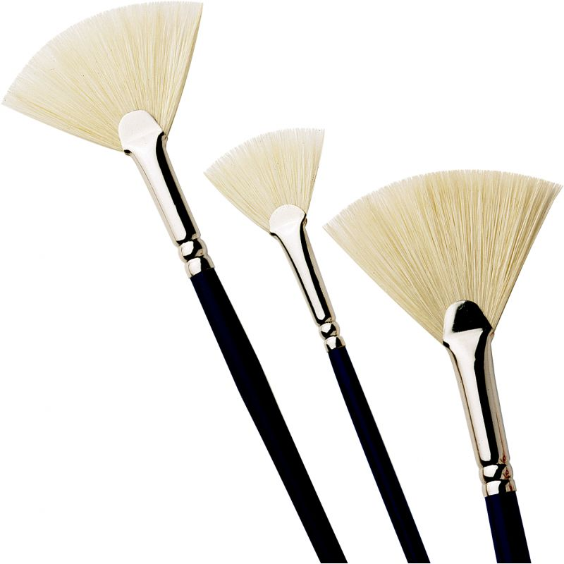 Pro Arte Series C Studio Hog Brushes - Fan