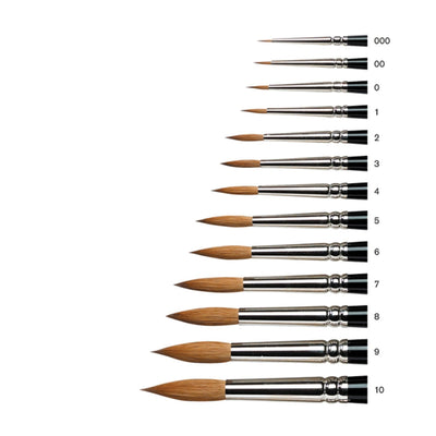 Winsor & Newton Series 7 Finest Kolinsky Sable Brushes