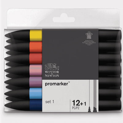 Winsor & Newton Promarker Sets of 12