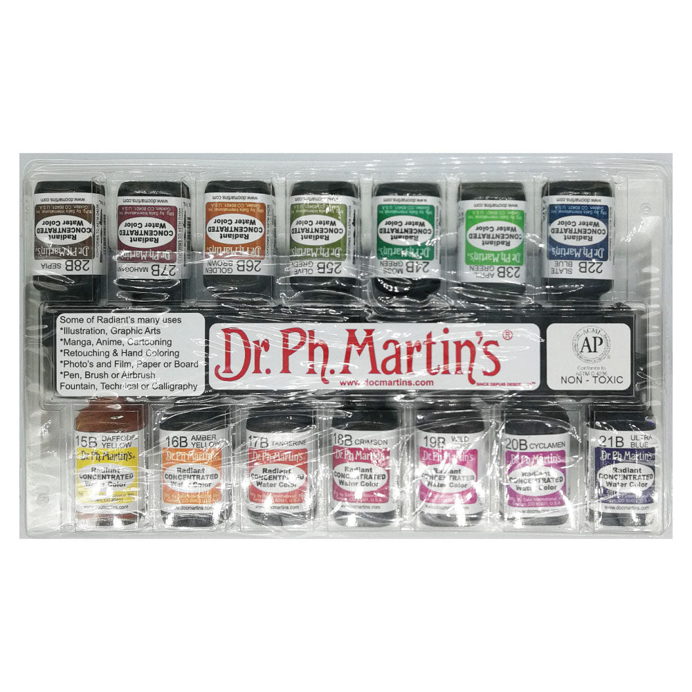 Dr. Ph. Martins Watercolour Dye (Ink) - Set B