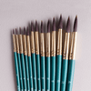 ARTdiscount Short Handled Artists Brushes - Round