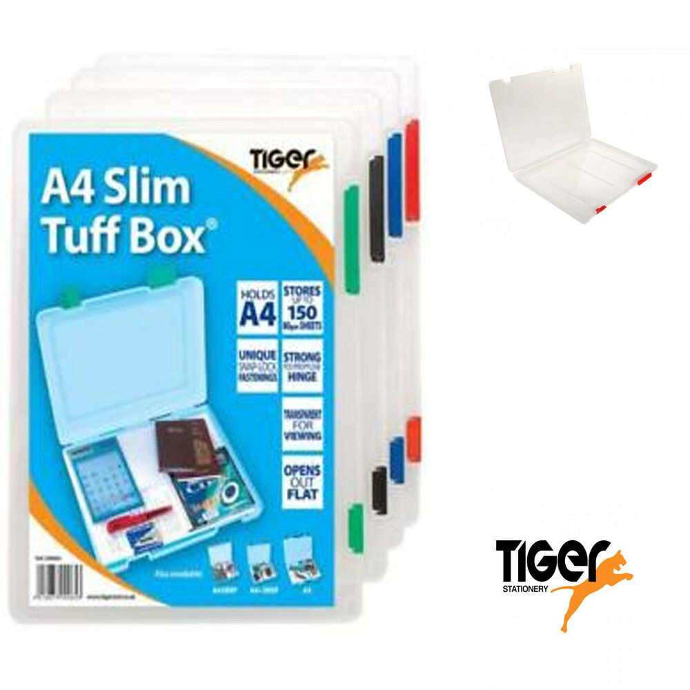 Tiger Slim A4 Tuff Box