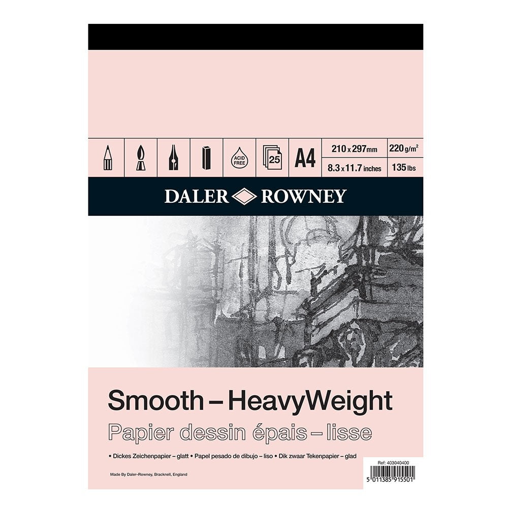 Daler Rowney Heavyweight Cartridge Pad