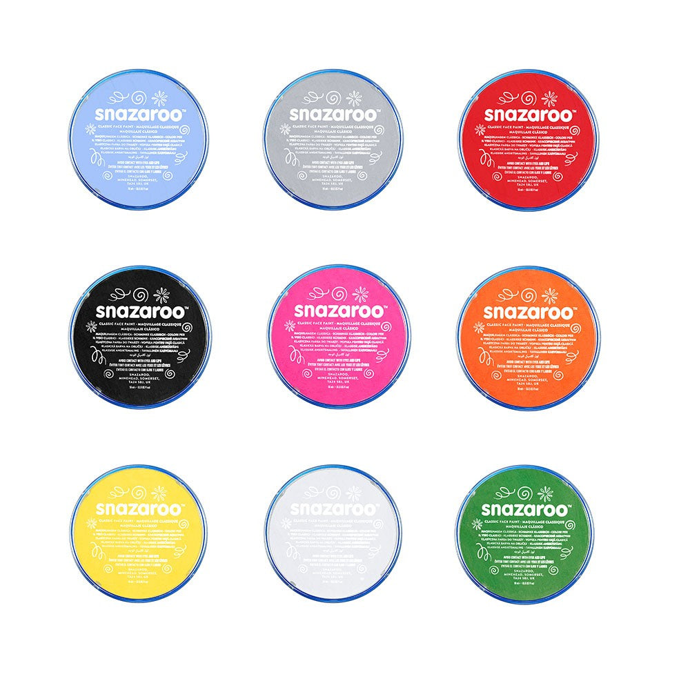 Snazaroo Face Paint 18ml Pots