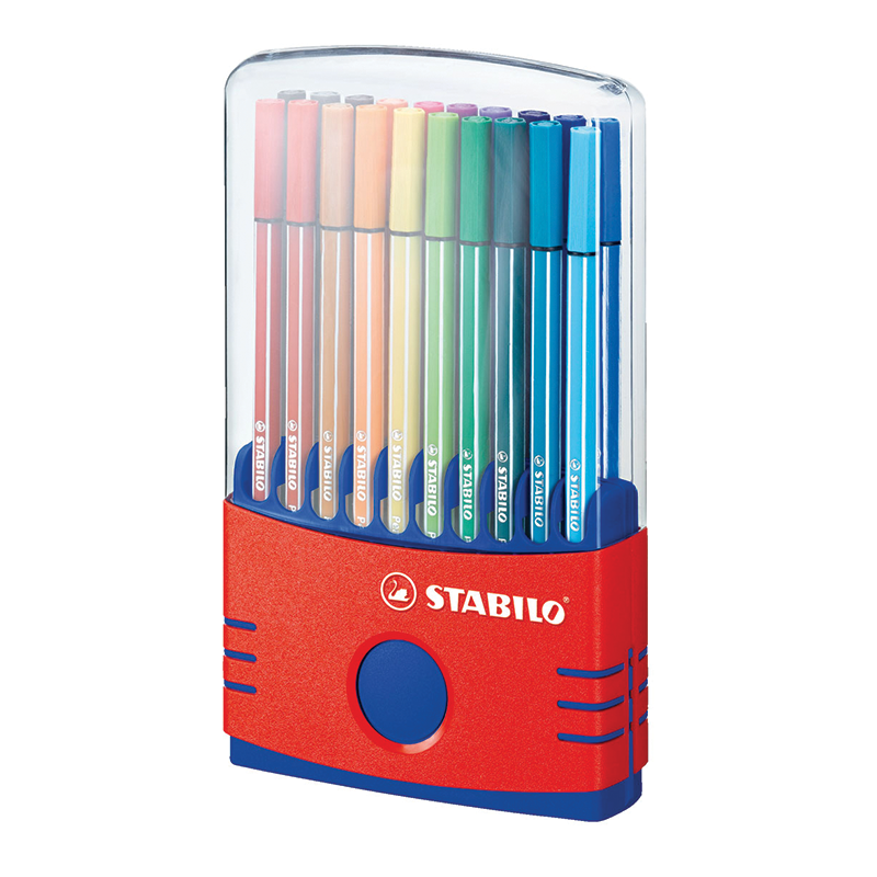 Stabilo Pen 68 Color Parade Set of 20