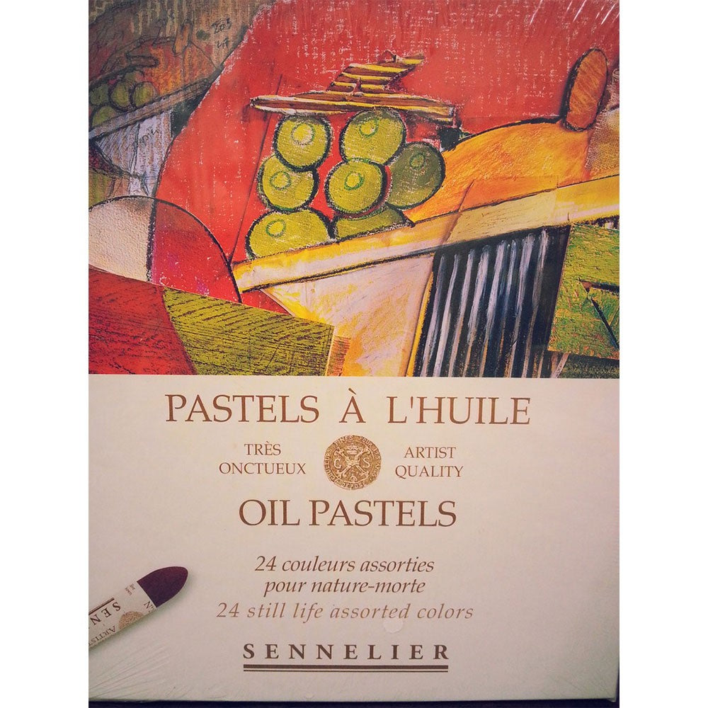 Sennelier Oil Pastels Set of 24 Still Life Colours