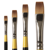 System 3 Short Handled Flat Brushes