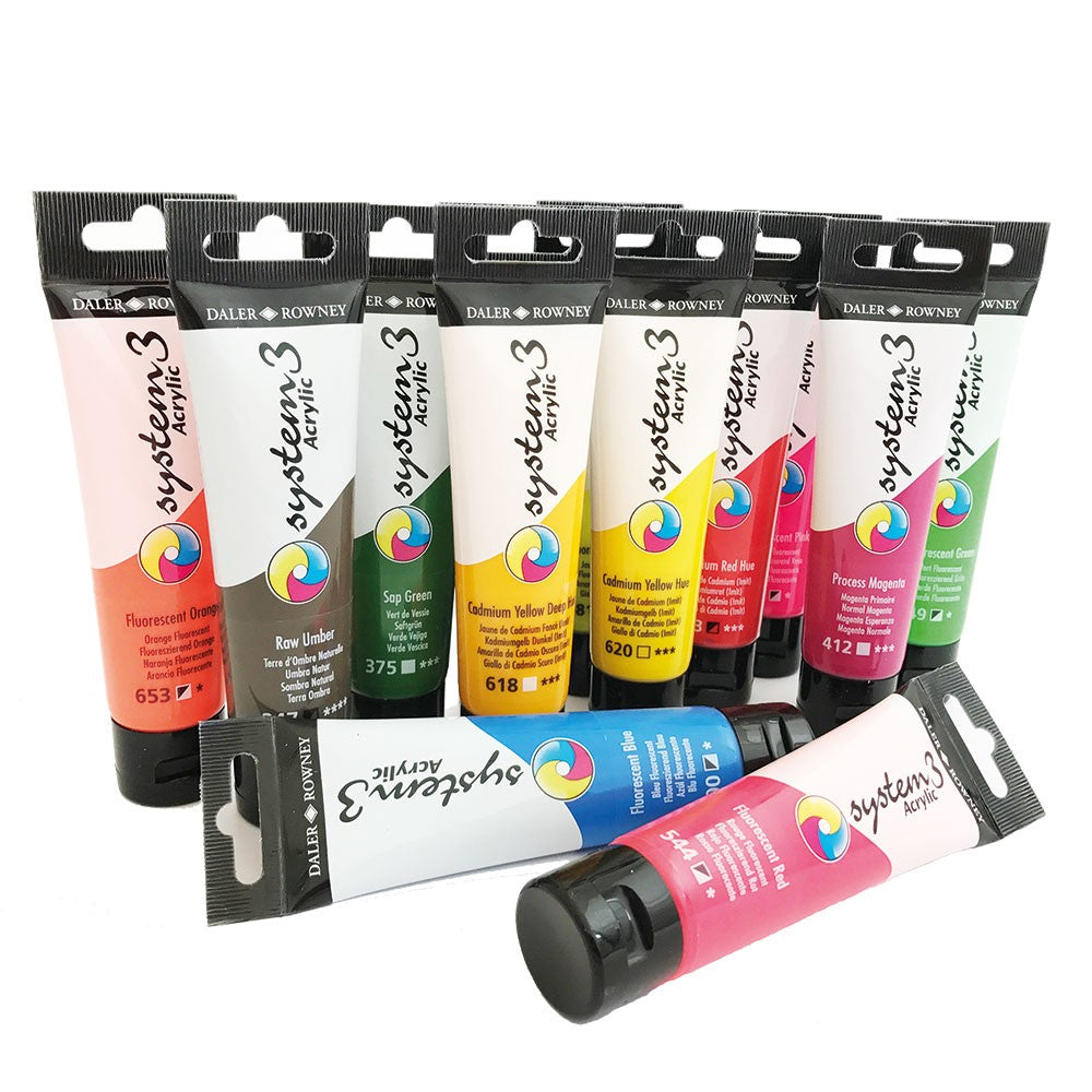 System 3 Acrylic Paint - 59ml