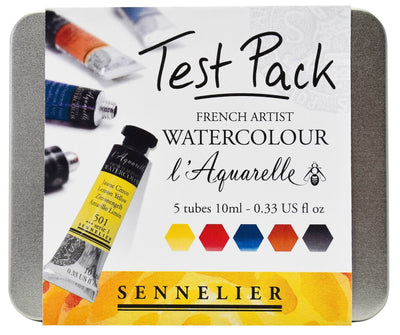 Sennelier l'Aquarelle Watercolour Test Set