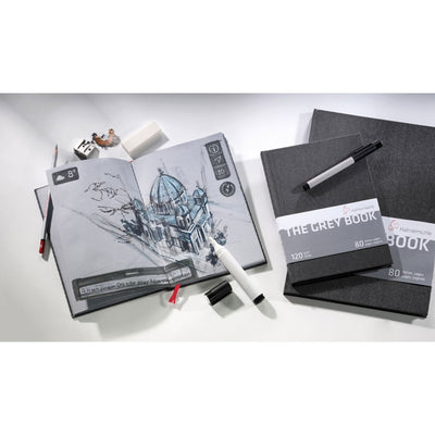 Hahnemühle 'The Grey Book'' Sketch Books - Portrait