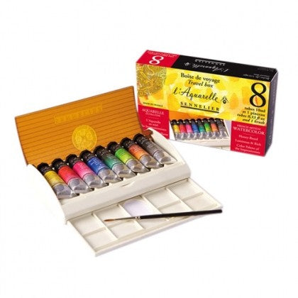Sennelier Watercolour Tube Travel Box