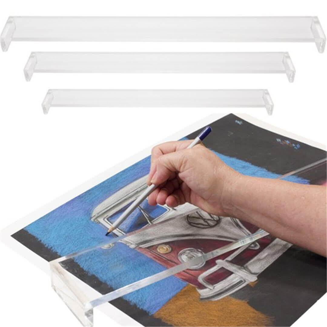 ART essentials Acrylic Hand Rest