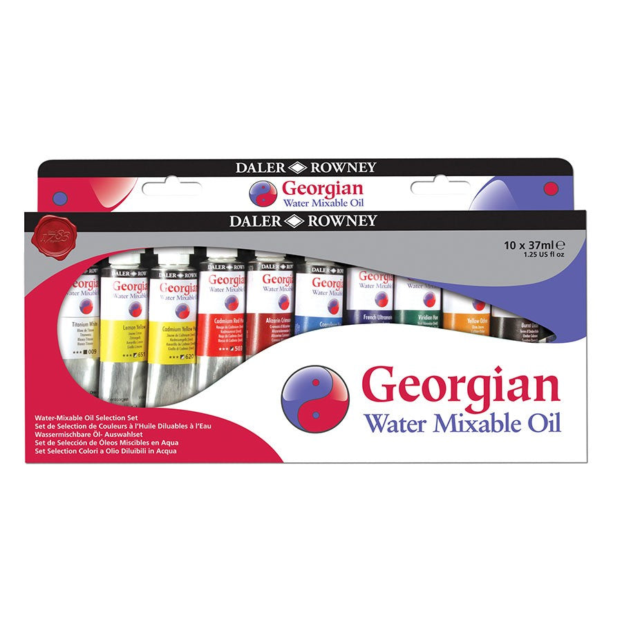 Georgian Water Mixable Oil Set - 10 x 37ml Tubes