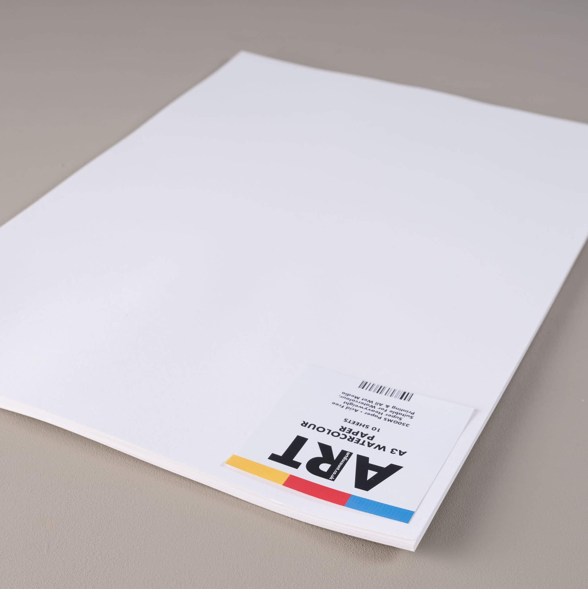 ARTdiscount 350gsm Watercolour Paper Packs - 10 Sheets Per Pack