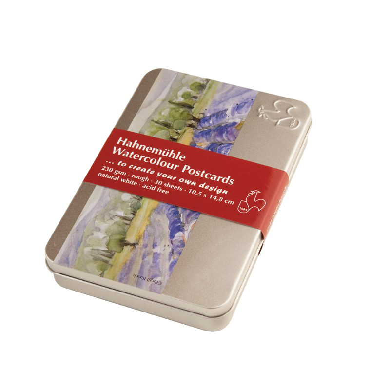 Hahnemuhle Watercolour Postcard Tins
