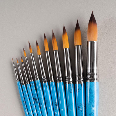 ARTdiscount Watercolour Brushes - Round
