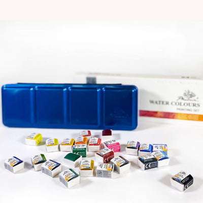 ART essentials Studio Quality Watercolour Painting Sets
