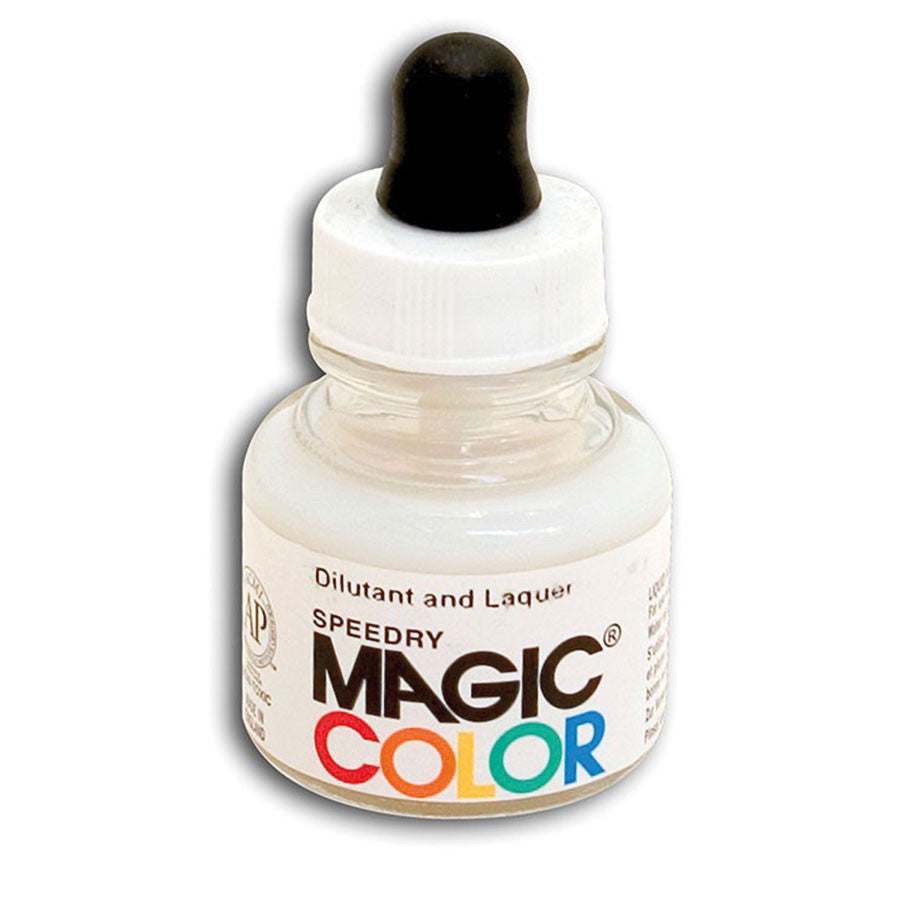 MAGIC COLOR Liquid Acrylic Mediums 28ml Jar - Laquer & Dilutant