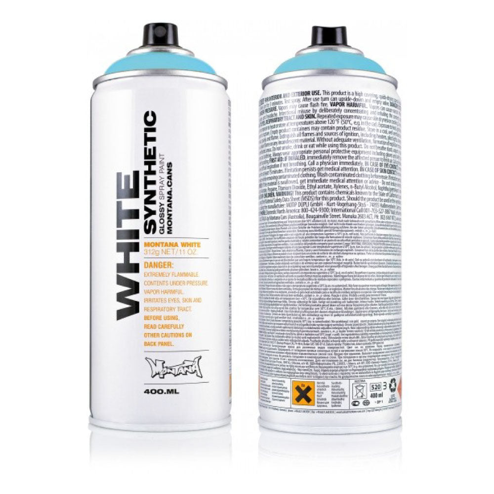 Montana White - Synthetic Glossy Spray Paint