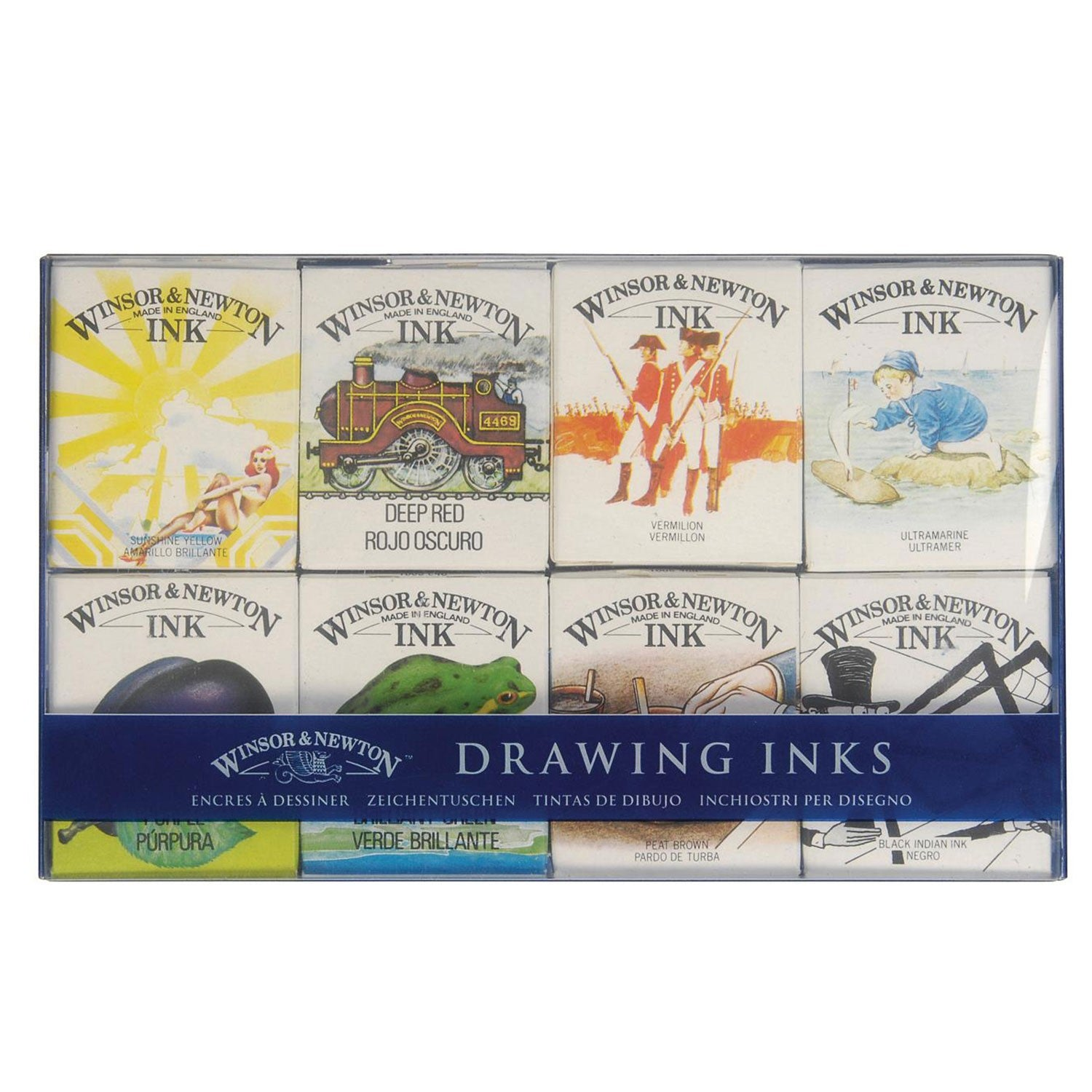 Winsor & Newton Drawing Inks - The William Set