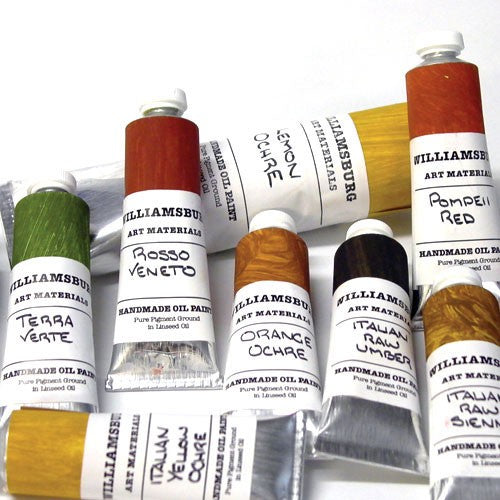 Williamsburg Handmade Oil Colour 37ml Tubes Series 8