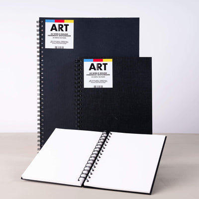 ARTdiscount Wire-o Bound Hardback Sketchbook - 50 Sheets