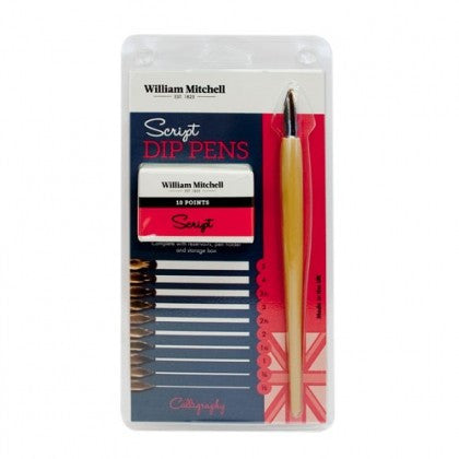 William Mitchell Script Dip Pens