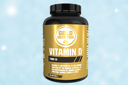 Nutri-Bay Vitamin D 1000IU Gold Nutrition - presente